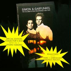 Simon & Garfunkel poster: Columbia Studio Recordings album flat