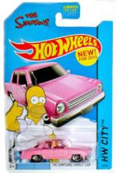 Hot Wheels HW City: The Simpsons Family Car 1:64 diecast vehicle
