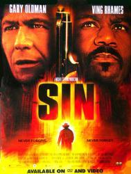 Sin movie poster (2003) [Gary Oldman, Ving Rhames] 18x24 video version
