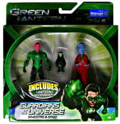 Green Lantern [Guardians of the Universe] Sinestro & Sayo figures