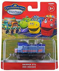 Chuggington StackTrack: Skipper Stu Doc Docker die-cast vehicle (Tomy)