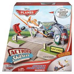 Planes [Action Shifters] Skipper's Flight School set (Mattel) Disney