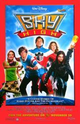 Sky High movie poster [Kurt Russell & Kelly Preston] DVD version