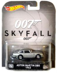 Hot Wheels Retro Entertainment: Skyfall Aston Martin DB5 1963 diecast