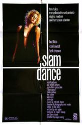 Slam Dance movie poster [Virginia Madsen] 1987 original 27x41