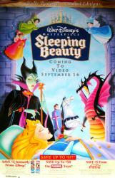 Sleeping Beauty movie poster [Walt Disney] video poster