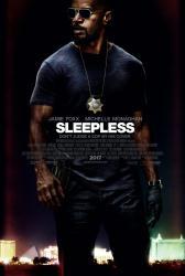 Sleepless movie poster [Jamie Foxx] 27x40 original