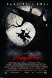 Sleepy Hollow movie poster [a Tim Burton film] 27x40
