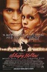 Sleepy Hollow movie poster [Johnny Depp, Christina Ricci] 27x40 video