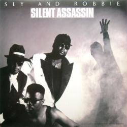 Sly and Robbie poster: Silent Assassin vintage LP/Album flat