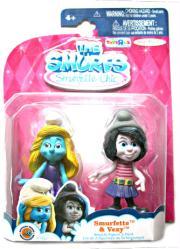 The Smurfs Smurfette Chic: Smurfette & Vexy figures (JAKKS Pacific)