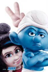 The Smurfs 2 movie poster (original 27 X 40 advance) 2013