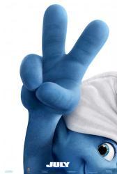 The Smurfs 2 movie poster (2013) original 27 X 40 advance