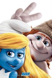 The Smurfs 2 movie poster (2013) original 27 X 40 Smurfette advance