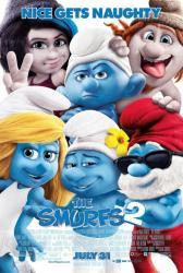 The Smurfs 2 movie poster (original 2013 one-sheet) 27'' X 40''
