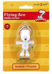 Peanuts: Snoopy Flying Ace bendable keychain (NJ Croce) New