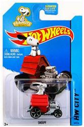 Hot Wheels HW City: Peanuts Snoopy 1:64 diecast vehicle