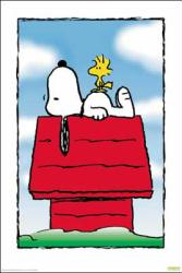 Peanuts poster: Snoopy and Woodstock (27x40) New
