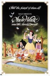 Snow White and the Seven Dwarfs movie poster (24x36) Walt Disney