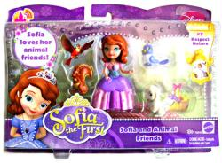 Sofia the First: Sofia and Animal Friends figure set (Mattel) Disney