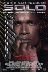 Solo movie poster (1996) [Mario Van Peebles] 27x40 video version