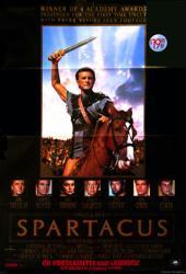 Spartacus movie poster (1960) [Kirk Douglas, Stanley Kubrick] 27x40