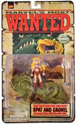 Marvel's Most Wanted: Spat and Grovel action figures (ToyBiz/1998)