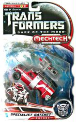Transformers: Dark of the Moon [Mechtech] Specialist Ratchet figure