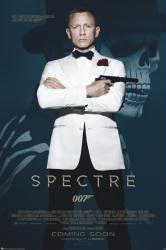 Spectre movie poster [Daniel Craig as James Bond] 24x36