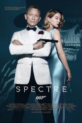 Spectre movie poster [Daniel Craig as James Bond, Léa Seydoux] 24x36