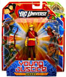 DC Universe Young Justice: Speedy action figure (Mattel/2011)