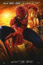 Spider-Man 2 movie poster [advance ''Destiny'' teaser] Sam Raimi