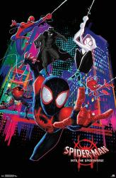 Spider-Man: Into the Spider-Verse movie poster (22x34) Marvel