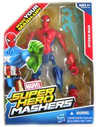 Marvel Super Hero Mashers: Spider-Man action figure (Hasbro/2013)