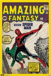 Spider-Man poster: Amazing Fantasy Issue 15 cover (24'' X 36'') Marvel
