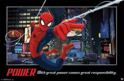Spider-Man poster (34x22) With Great Power Comes Great Responsibility