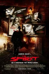 The Spirit movie poster [Gabriel Macht/Scarlett Johansson/Eva Mendes]