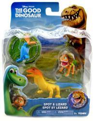The Good Dinosaur: Spot & Lizard figures (Tomy) Disney/Pixar