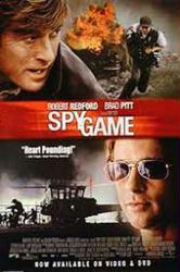 Spy Game movie poster [Robert Redford & Brad Pitt] video poster/NM