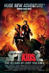 Spy Kids 2: Island of Lost Dreams movie poster [Alexa Vega]