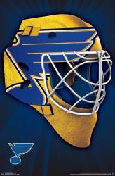 St. Louis Blues poster: Mask (NHL) 22x34