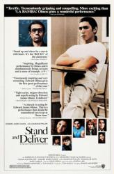 Stand and Deliver poster [Edward James Olmos, Lou Diamond Phillips]