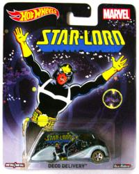 Hot Wheels: Marvel Star-Lord die-cast Deco Delivery vehicle