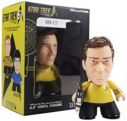 "Star Trek: 4.5"" Captain Kirk Titans vinyl figure (Titan/2016)"