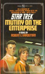 Star Trek: Mutiny On the Enterprise paperback book (1983)