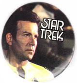 Star Trek pinback: Captain Kirk (2.25'' Button) 1978