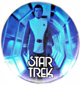 Star Trek The Motion Picture pinback: Admiral Kirk (2.25'' Button)