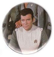 Star Trek Motion Picture pinback: Admiral James T Kirk (2.25'' Button)