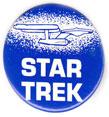 Star Trek pinback: U.S.S. Enterprise drawing (1.5'' Button)