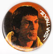 Star Trek III pinback: Captain Spock (1.5'' Button)